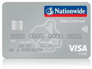 Nationwide Select credit card – 0% for 12 months on purchases/balance transfers, no BT fee + fee-free abroad