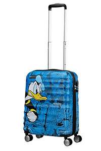 American Tourister - Disney Wavebreaker - Spinner 55/20 Hand Luggage, 55 cm, 36 liters, Multicolour (Donald Duck) £57.50  [Amazon.de]