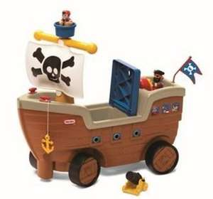 Little Tikes Play n' Scoot Pirate Ship Ride-On was £50 now £25 C+C @ Tesco Direct discount offer