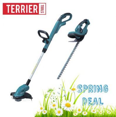 Makita 18V Cordless Strimmer & Hedge Trimmer Kit DUH523Z + DUR181Z Bare Tool Only £99.99 @ Terrier Tools