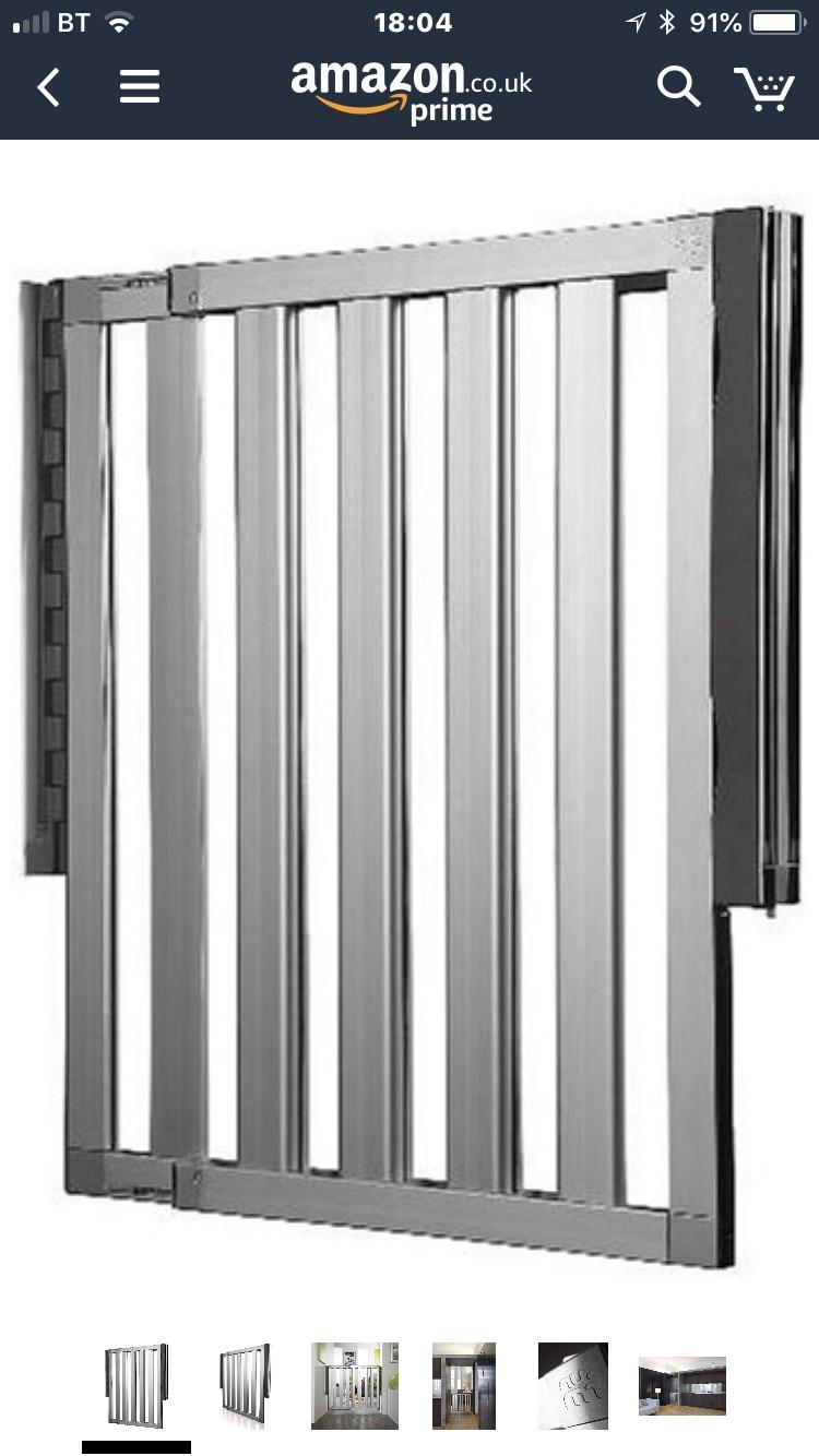 Lindam Numi Premium Extending Aluminium Safety Gate £40.41 @ Amazon