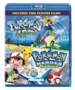 Pokemon Forever & Pokemon Heroes (Blu-ray) Two Movie set £5.99 delivered @ planet-of-entertainment / Ebay