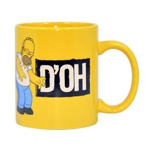 The Simpsons D'OH Mug or The Simpsons Doughnut Mug £2.99 delivered @ The Internet Gift Store