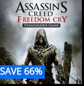 Assassin's Creed Freedom cry £3.99 @ PSN discount offer