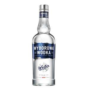 Wyborowa Pure Polish (Rye) Vodka, 70 cl, £15.50 (Prime) £19.49 (Non-Prime) @ Amazon