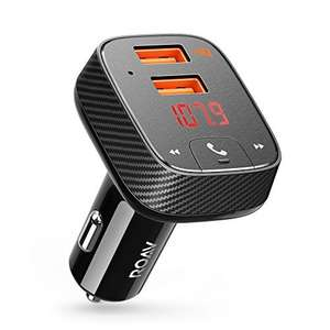 Amazon DOTD - Anker Car Combo Charger & Bluetooth receiver to FM transmitter - £14.99 (Prime) / £18.98 (non Prime) at Amazon Sold by AnkerDirect and Fulfilled by Amazon.