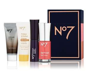 FREE Gift Worth £24 When You Buy 2 No7 Cosmetics Or Brushes / 10% Off NYX professional Makeup (Cruelty Free) @ Boots