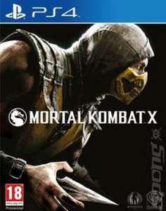 Mortal Kombat X (used) - £7.99 delivered after 20% off @ Music Magpie