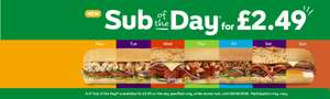 fancy a free Sub? Of course you do. Spend £2.49 or more and get 500 bonus points @ Subway