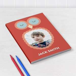 A5 Softcover Notebook 6x8'' was £12.99, now £6.99 delivered @ Truprint