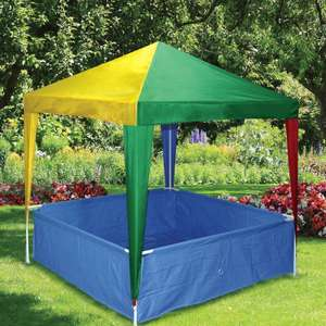 Kids Gazebo With Pool £34.99 C+C / £41.94 delivered @ QD Stores