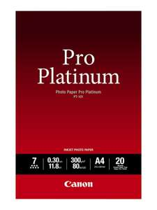 Canon Pro Platinum A4 (20 Pack) Instore at Tesco (Warwick). £9.50