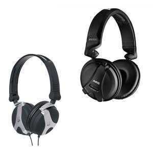AKG K181 DJ UE Headphones £32.98 / AKG K81 DJ Headphones £17.98 delivered​​ @ Gear4Music