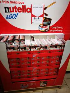 Nutella&go @ heron 2 for £1