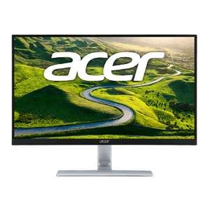 Acer RT240Y 23.8'' Wide FHD ZeroFrame IPS LED Monitor with 4ms, DVI & HDMI. Acer EcoDisplay £109.97 @ Ebuyer