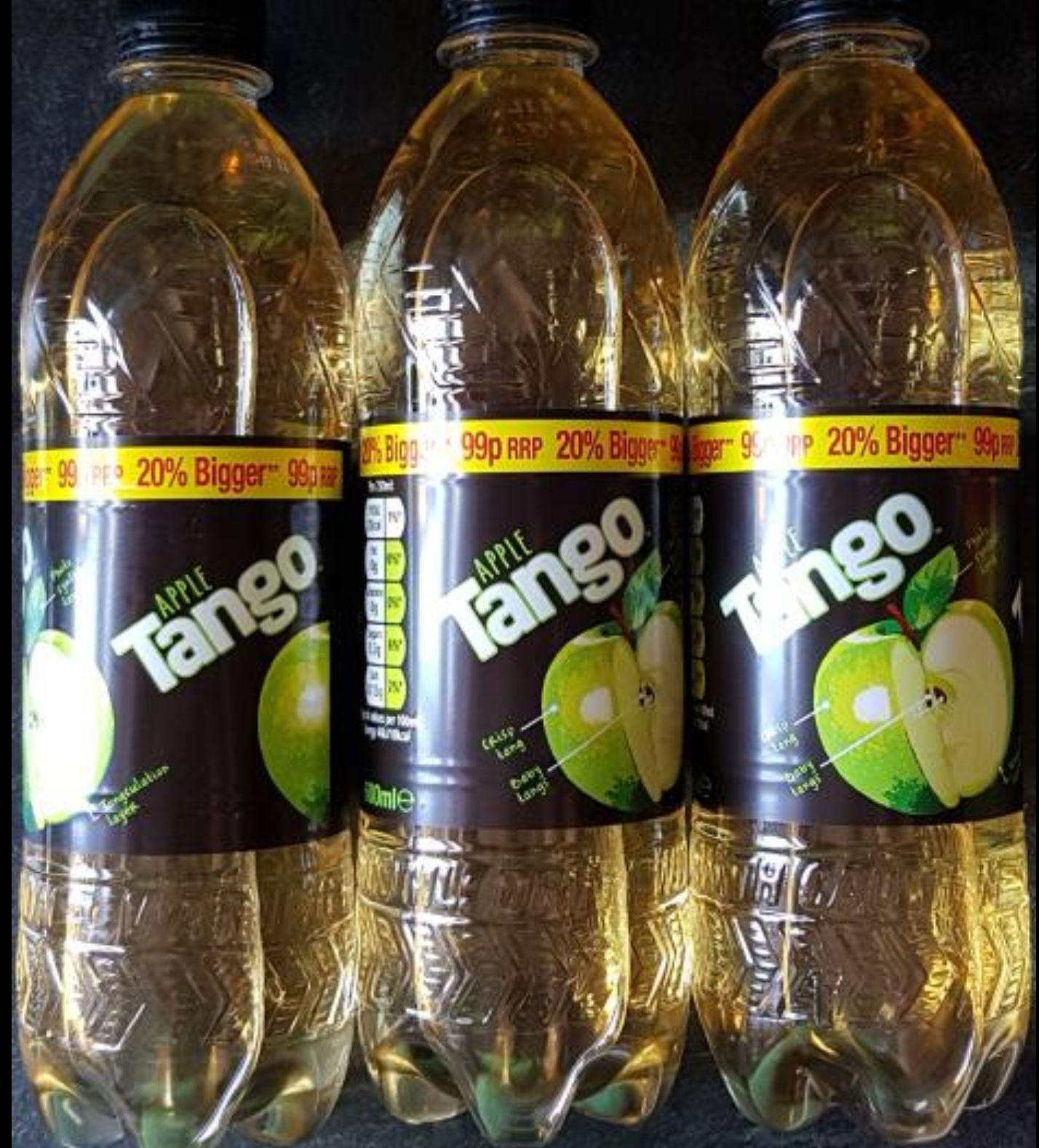 Tango apple 600ml 3 for £1 @ heron foods
