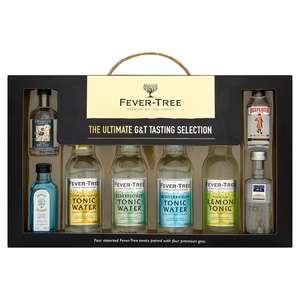 Sainsburys Fever Tree Ultimate Gin & Tonic Tasting Selection x4 £8