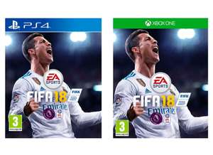 FIFA 18 (PS4/Xbox One) for £20 @ Tesco Groceries - Now Live