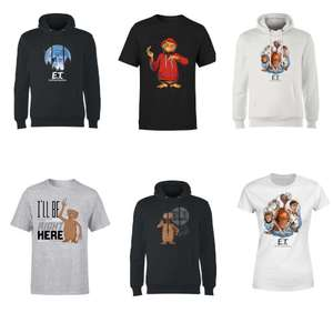Free E.T. T-Shirt When you by an E.T. Hoodie £24.99 delivered w/code @ IWOOT
