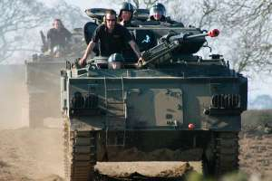 Tank Driving Experience for Two People + Free entry to the on-site Museum (Ideal for Father's day gift) £92.65 w/code @ Virgin Experience