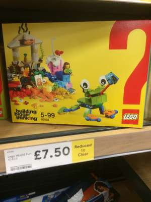 Lego 10403 set - £7.50 instore @ Tesco hyson green