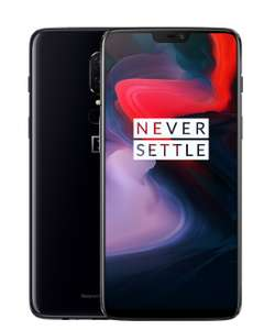 OnePlus 6 from £445.55 (with student discount 5%) NOW LIVE