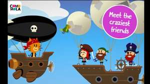 comomola pirates: app for kids, now free was £2.59 also two other comomola kids apps now free @ play store
