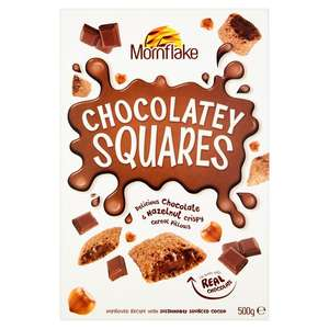 Mornflake Chocolatey Squares 500g for £1 @ Morrisons