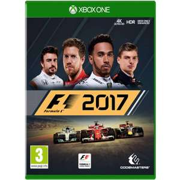 F1 2017 XBOX ONE (also PS4) @ Zavvi - £20.98
