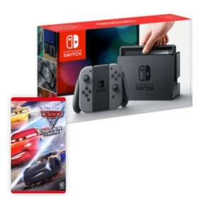 Nintendo Switch 32GB	console bundled with:	Cars 3: Driven to Win @ Argos - £279.99
