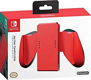 Nintendo Switch Joy-Con Comfort Grip Red £5.99 (Prime) £10.74 (Non Prime) @ Amazon
