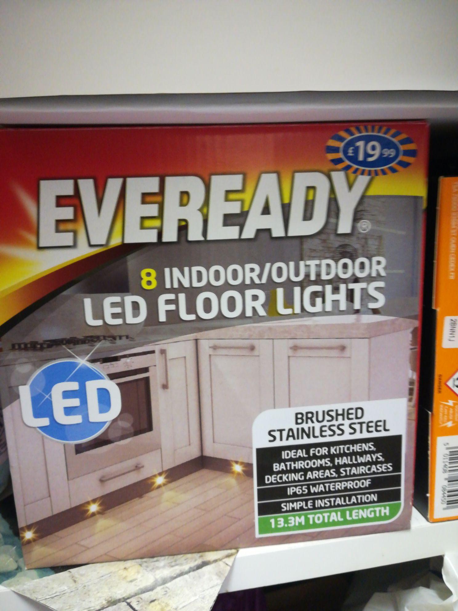 Led floor/decking lights - £1 instore @ B&M (Poole)