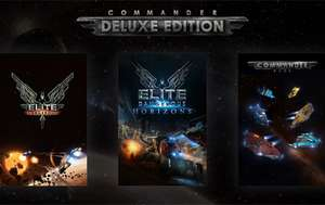 Elite Dangerous: Commander Deluxe Edition (Steam) - £21.19 @ HumbleBundle