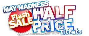 From 10am 17/5 half price half term tickets from £14.50 instead of £29 @ Drayton Manor