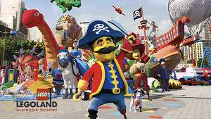 2 x free LEGOLAND tickets starting on Saturday, May 19 with The Sun