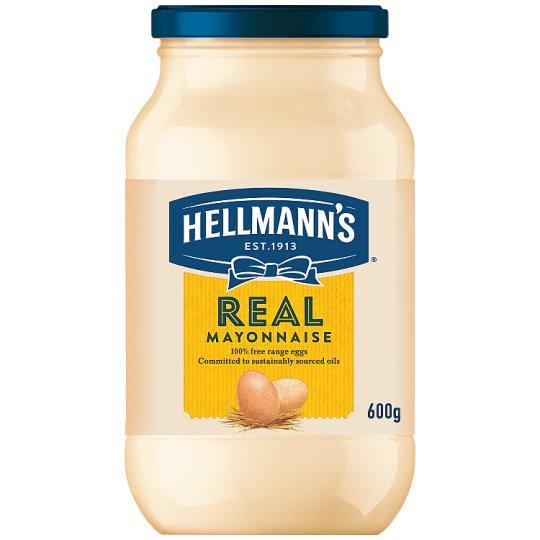 Hellmann's Mayonnaise 600g £1.25 or 85p with TCB @ Tesco