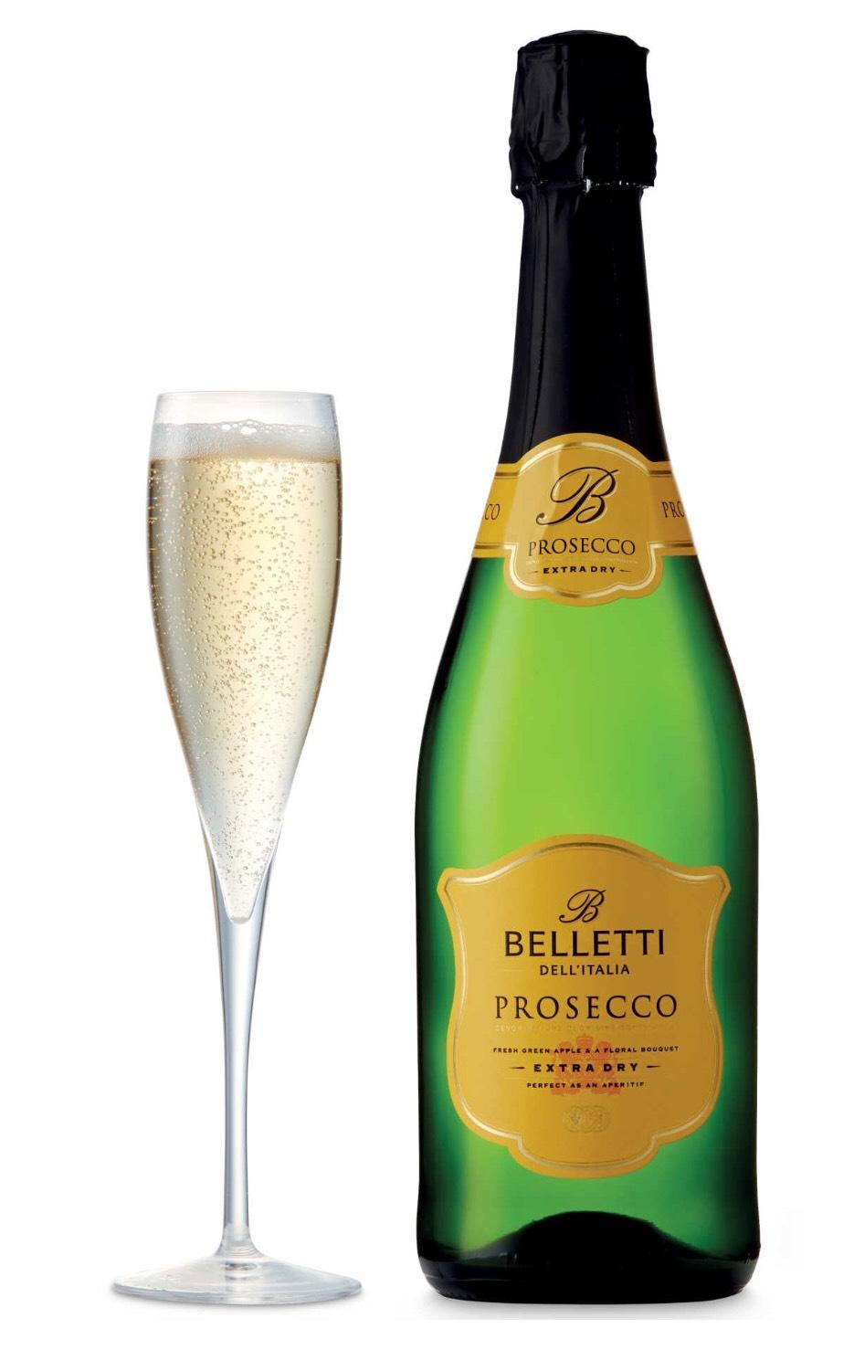 [Reduced] Belletti Prosecco Spumante DOC 75cl - £4.99 @ Aldi