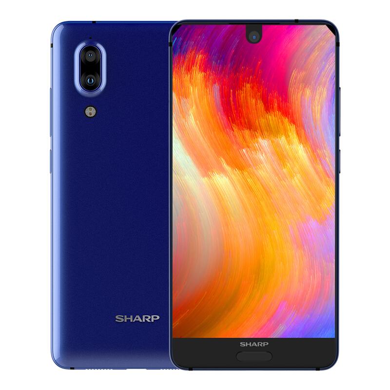 SHARP AQUOS S2 4GB RAM 64GB SNAPDRAGON 630 NFC Blue Smart Phone - £120 @ Joybuy
