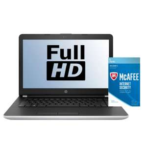 "14"" HP Laptop - i5-8250U​​ / 4GB RAM / 256GB SSD / Full HD £449 + **NOW with  £50 Cashback** @ AO (3 colours to choose from / Free McAfee Internet Security / More in OP)"