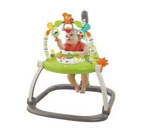 Fisher-Price Spacesave Adjustable Interactive Jumperoo £43.99 @ Argos ebay - Free Delivery