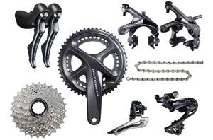 Shimano Ultegra R8000 Groupset. 44% OFF at Evans Cycles - £619.99