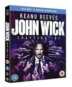 John Wick: Chapters 1 & 2 [Blu-ray + Digital Download] £9.99 Delivered @ TheEntertainmentStore/eBay