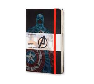 Marvel Moleskin £6.99 (+ £2.99 delivery) - Iron Man, Hulk, Captain America @ MyGeekBox