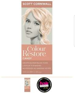 Poundland in-store Darlington Scott Cornwall colour restore candy blush toner (£11.99 in Boots) – £1