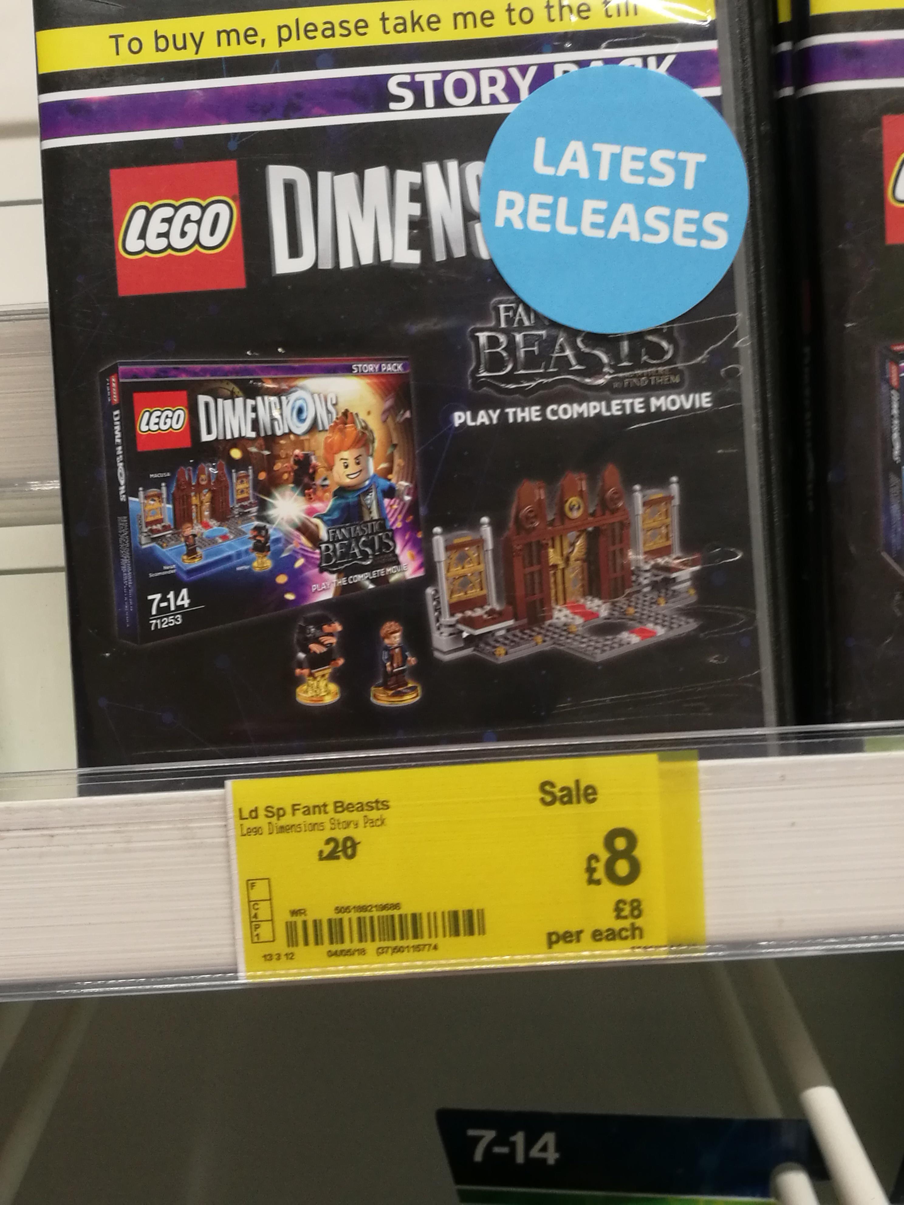 Lego dimensions fantastic beasts expansion £8 at ASDA