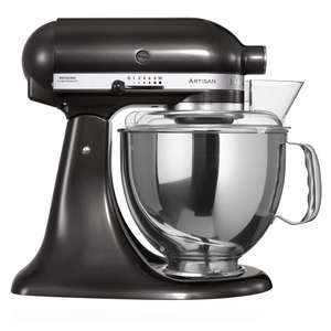 KitchenAid Artisan KSM150BBZ Stand Mixer with 4.8L Bowl and 300W Power in Black - £269 (with code) @ Hughes