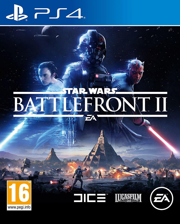 Star Wars Battlefront 2 (PS4) – Used Like New £12.25  Boomerang Rentals via Amazon
