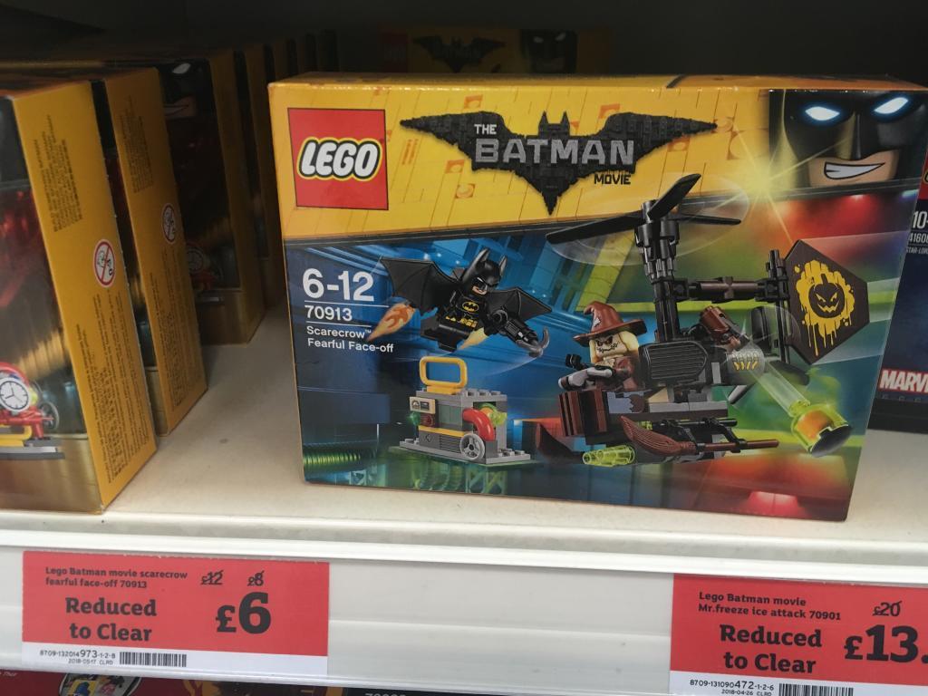 LEGO DC Comics 70913 Batman Movie Scarecrow Fearful Face-Off - £6.00 instore @ Sainsbury's