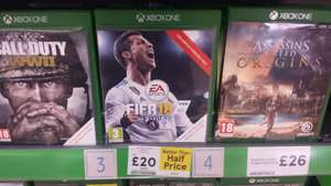 Fifa 18 (Xbox One) - £20 instore @ Tesco (London)
