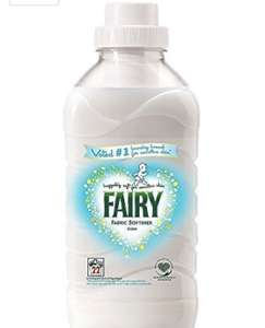 8 x fairy fabric conditioner 550ml @ Amazon - £7 Prime / £10.95 non-Prime